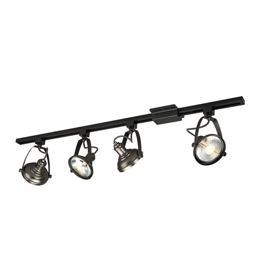 Shop Project Source 4-Light 42-in Antique Bronze Dimmable