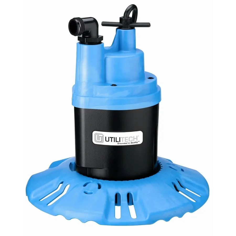 medium resolution of utilitech 0 25 hp thermoplastic submersible utility pump