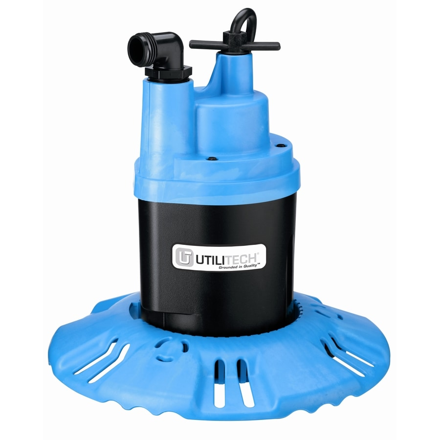 hight resolution of utilitech 0 25 hp thermoplastic submersible utility pump