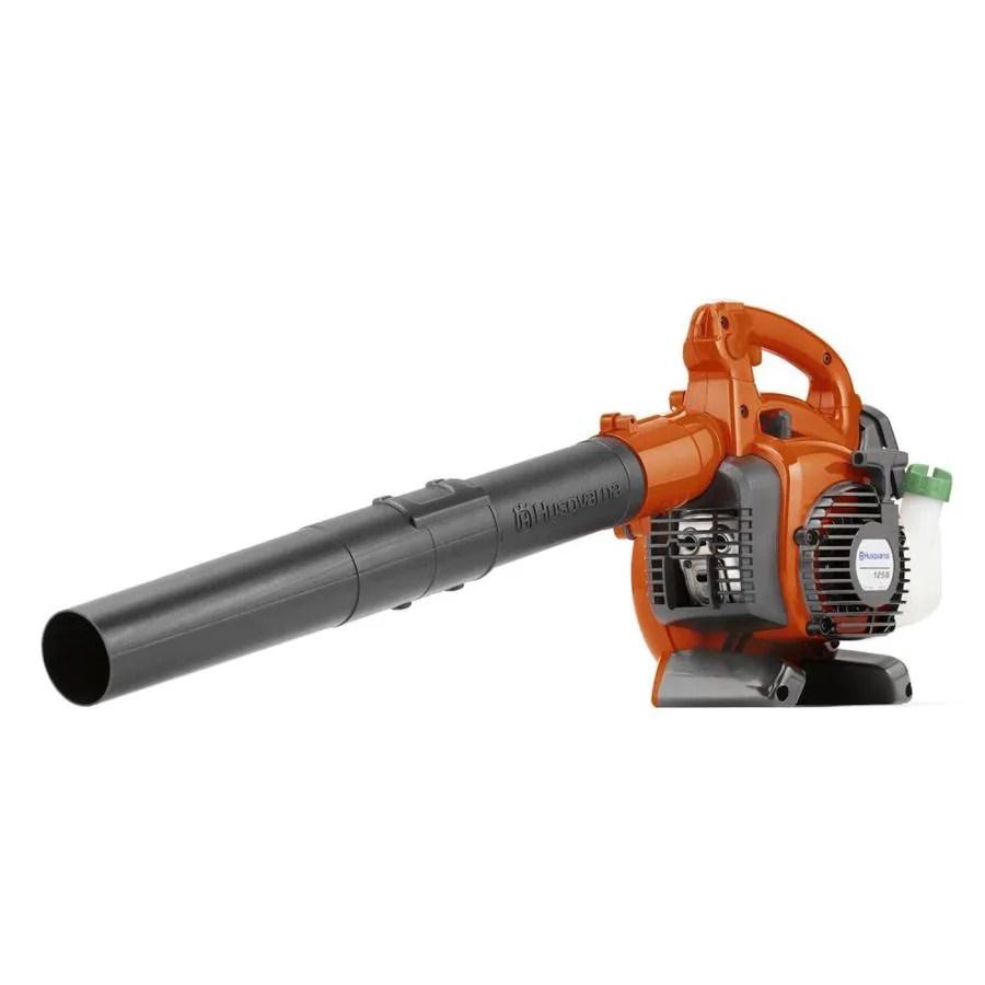 hight resolution of husqvarna 125b 28 cc 2 cycle 170 mph 470 cfm handheld gas leaf blower
