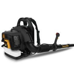 poulan pro pr46bt 46 cc 2 cycle 220 mph 490 cfm gas backpack leaf blower [ 900 x 900 Pixel ]