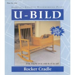 Rocking Chair Crib Combo Building A U Bild Rocker Cradle Carpentry And Woodcraft Book At Lowes Com