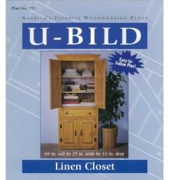 u bild linen closet woodworking plan [ 900 x 900 Pixel ]