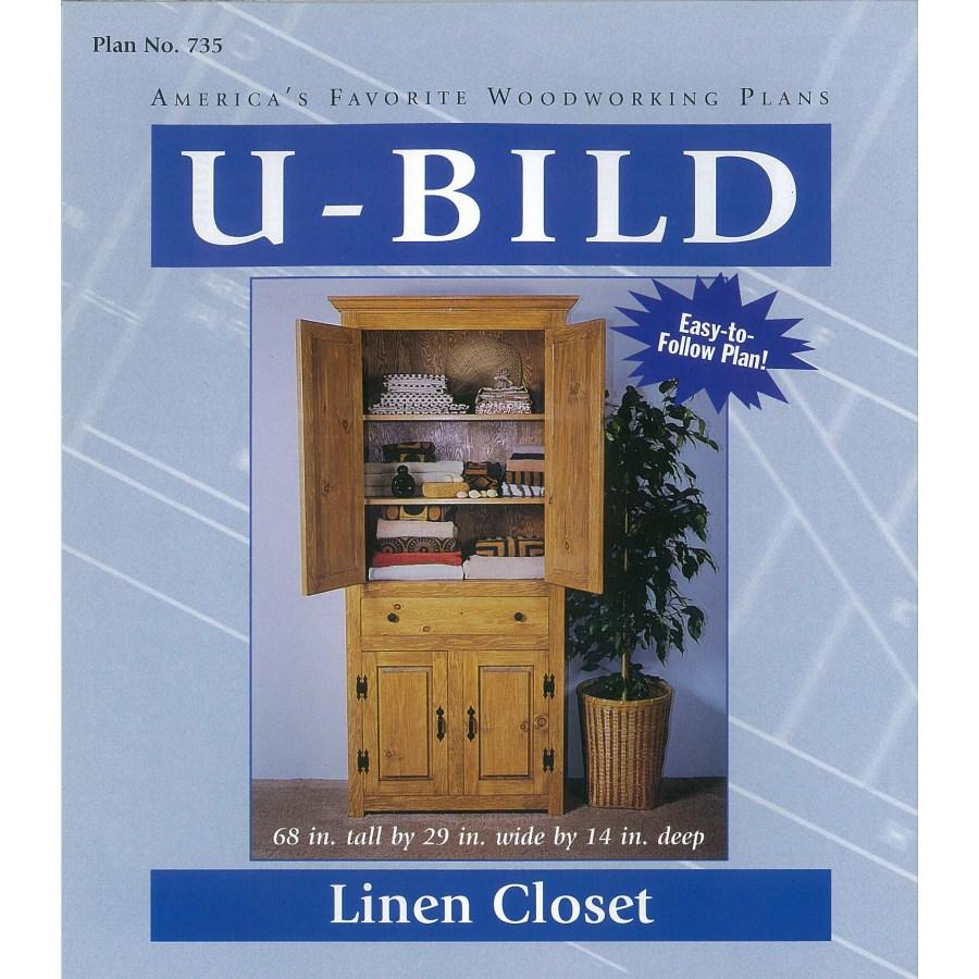 medium resolution of u bild linen closet woodworking plan