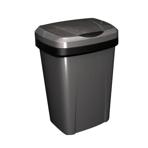 Plastic 13 Gallon Kitchen Trash Can