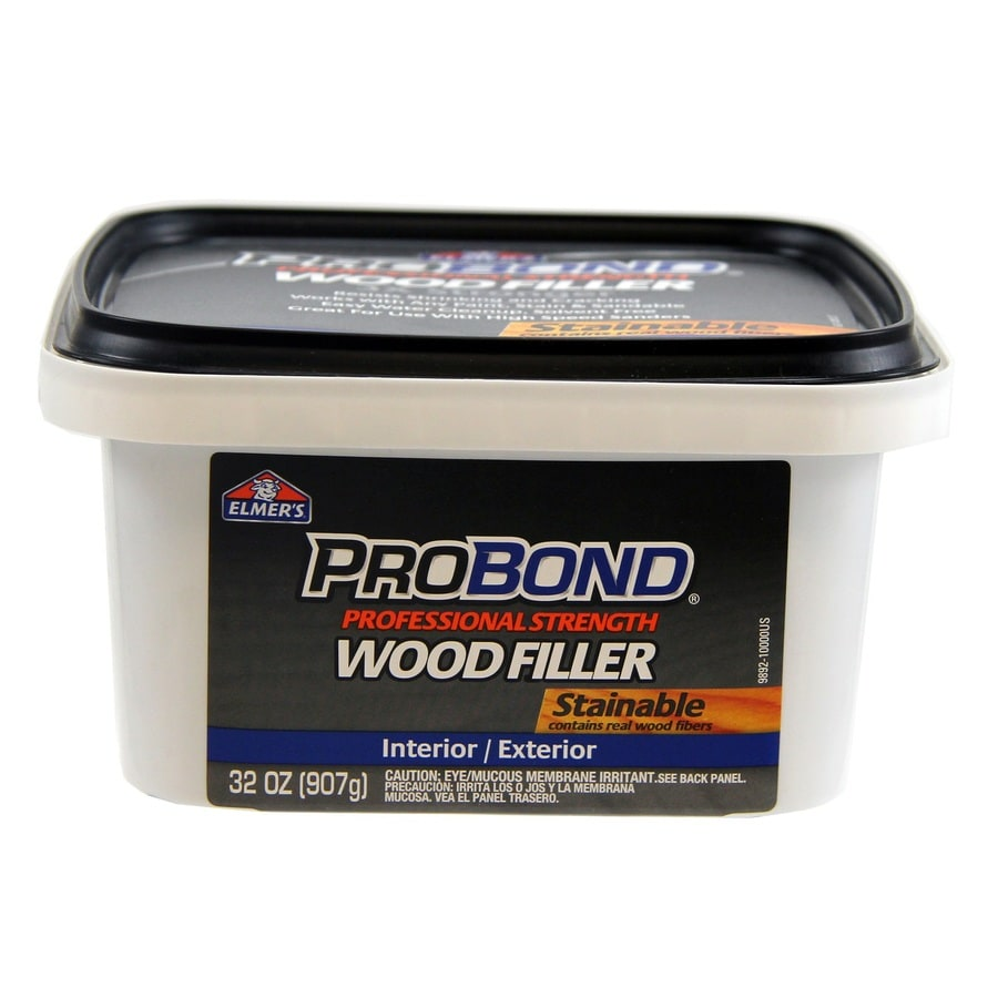 Stainable Wood Putty
