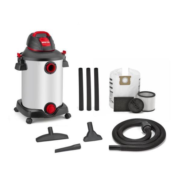 Vac 12-gallon 6-hp Vacuum