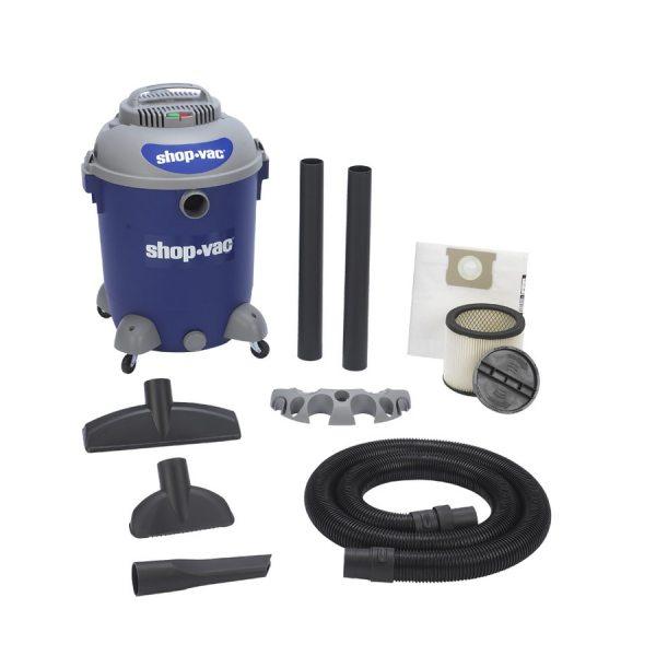 Vac 12-gallon 5.5 Peak Hp Vacuums