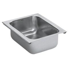 Undermount Kitchen Sinks Lowes Storage Cabinets Free Standing Shop Moen 1800 Series Stainless Steel ...