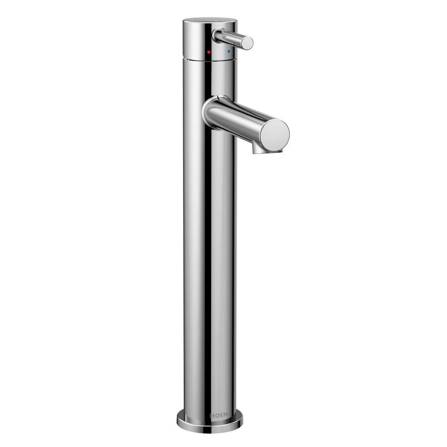 https www lowes com pd moen align chrome 1 handle single hole 4 in centerset watersense bathroom sink faucet 999920436