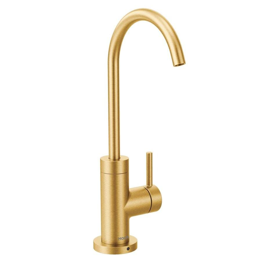 moen gold kitchen faucets at lowes com