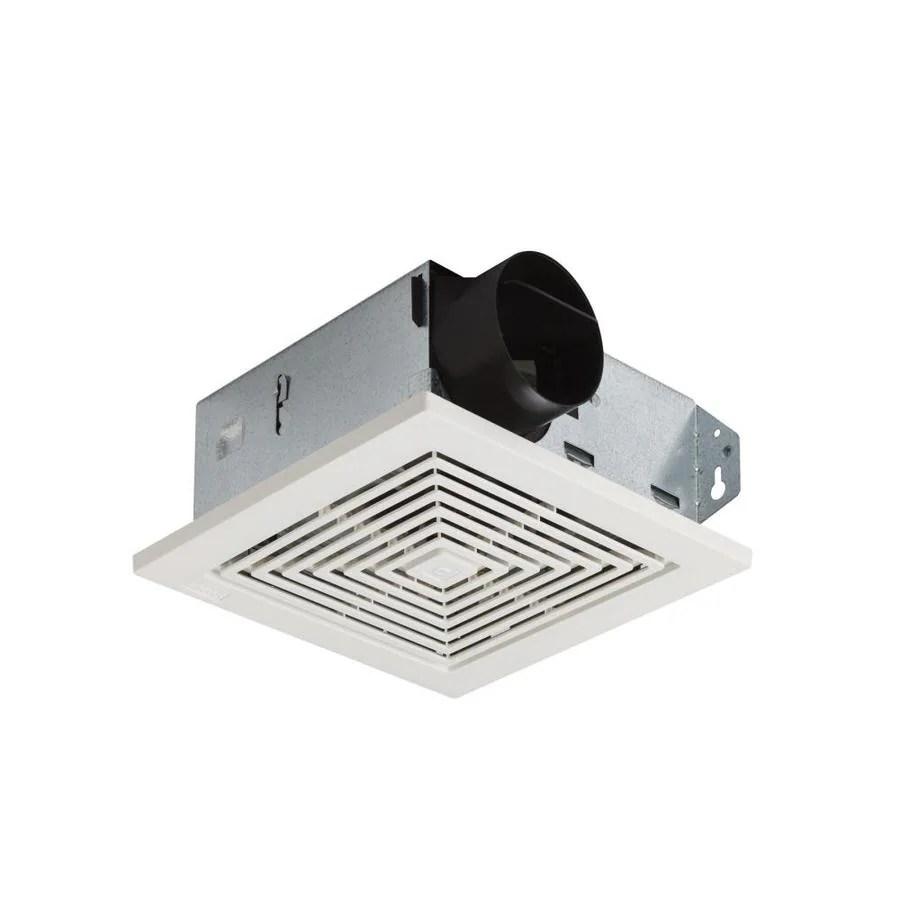 medium resolution of broan 4 sone 50 cfm white bathroom fan