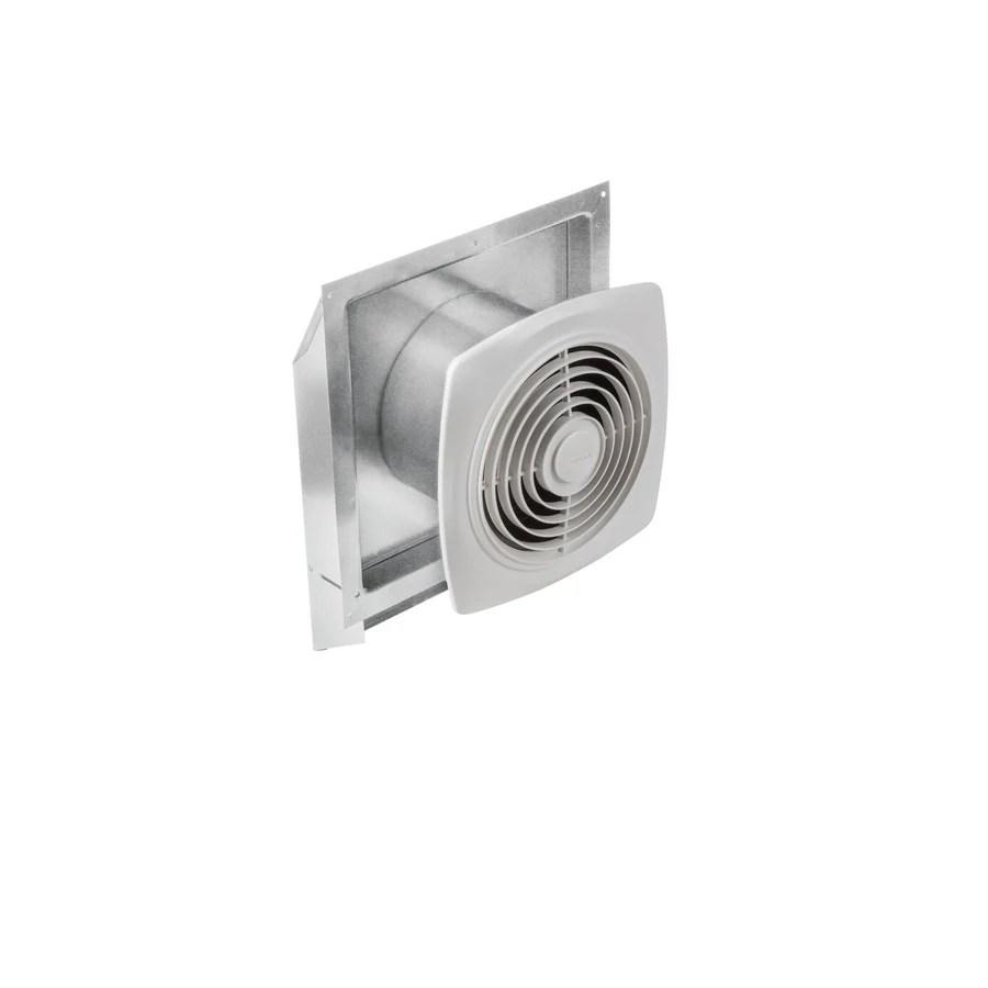 broan utility fan 7 sone 270 cfm white bathroom fan