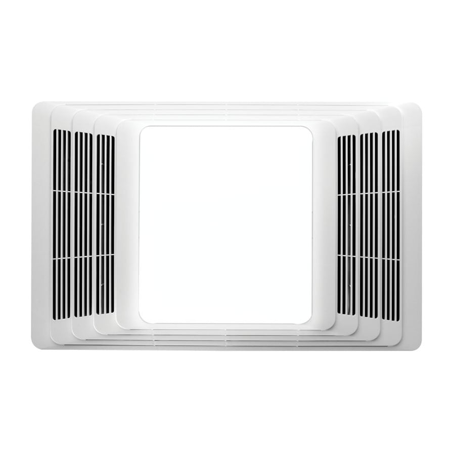 Broan White Bathroom Fan with Heater at Lowescom