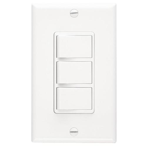 small resolution of broan decorative wall controls 20 amp white rocker residential light switch with wall plate