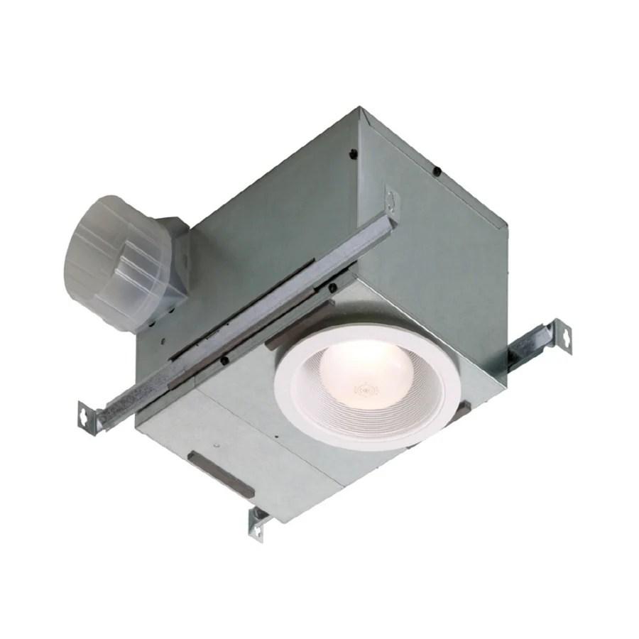 medium resolution of broan 1 5 sone 70 cfm white bathroom fan