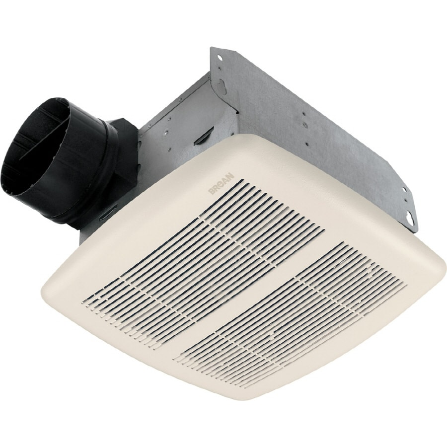Broan 25Sone 80CFM White Bathroom Fan at Lowescom