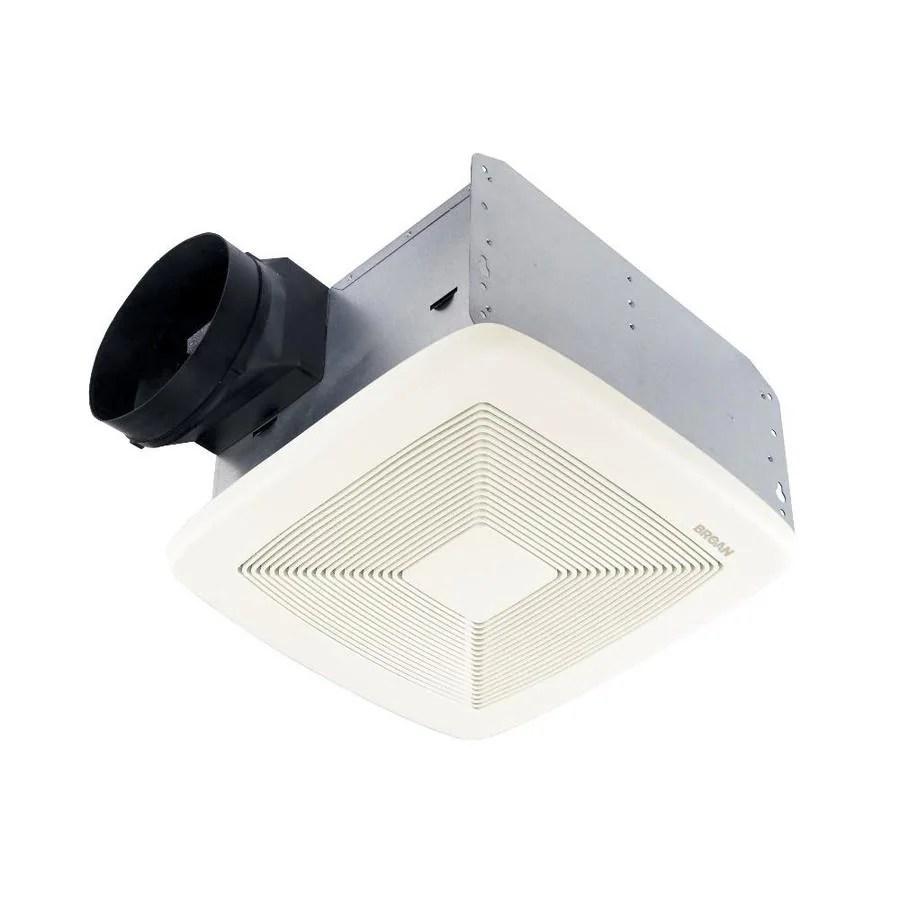 Broan 08Sone 80CFM White Bathroom Fan ENERGY STAR at Lowescom