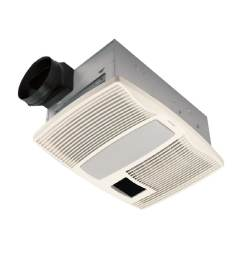 broan 0 9 sone 110 cfm white bathroom fan with heater [ 900 x 900 Pixel ]