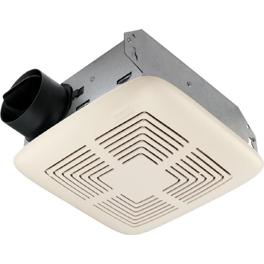 hight resolution of broan 4 sone 70 cfm white bathroom fan