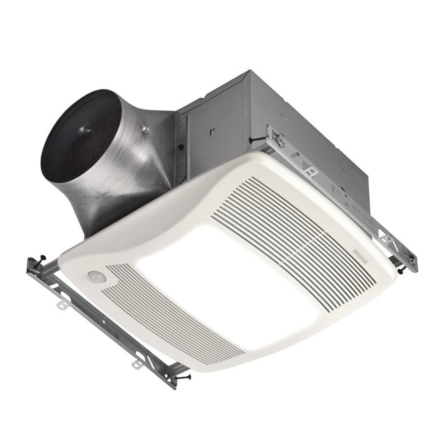 Broan 03Sone 110CFM White Bathroom Fan ENERGY STAR at Lowescom