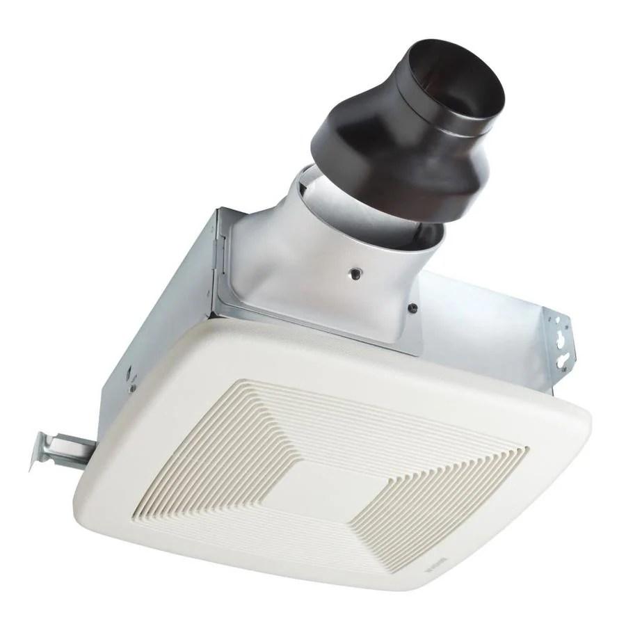 Shop Broan 1Sone 80CFM White Bathroom Fan ENERGY STAR at Lowescom