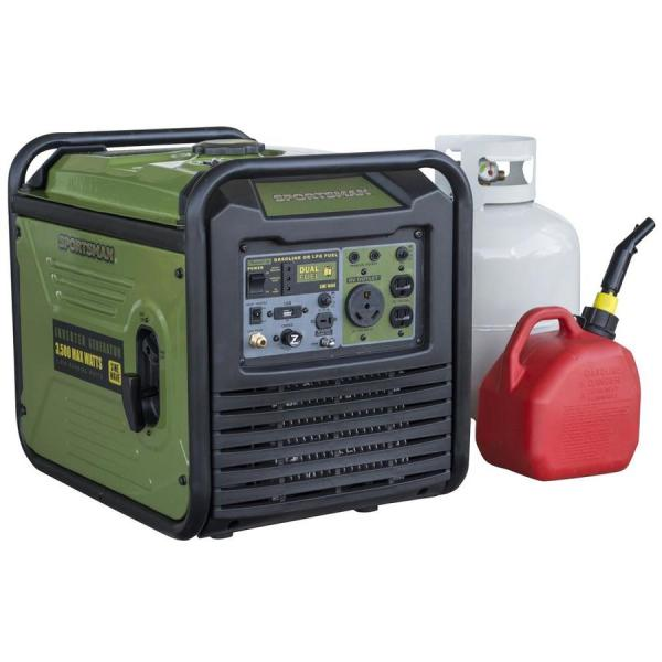 Sportsman Inverter 3500-watt Gasoline Propane Portable Generator