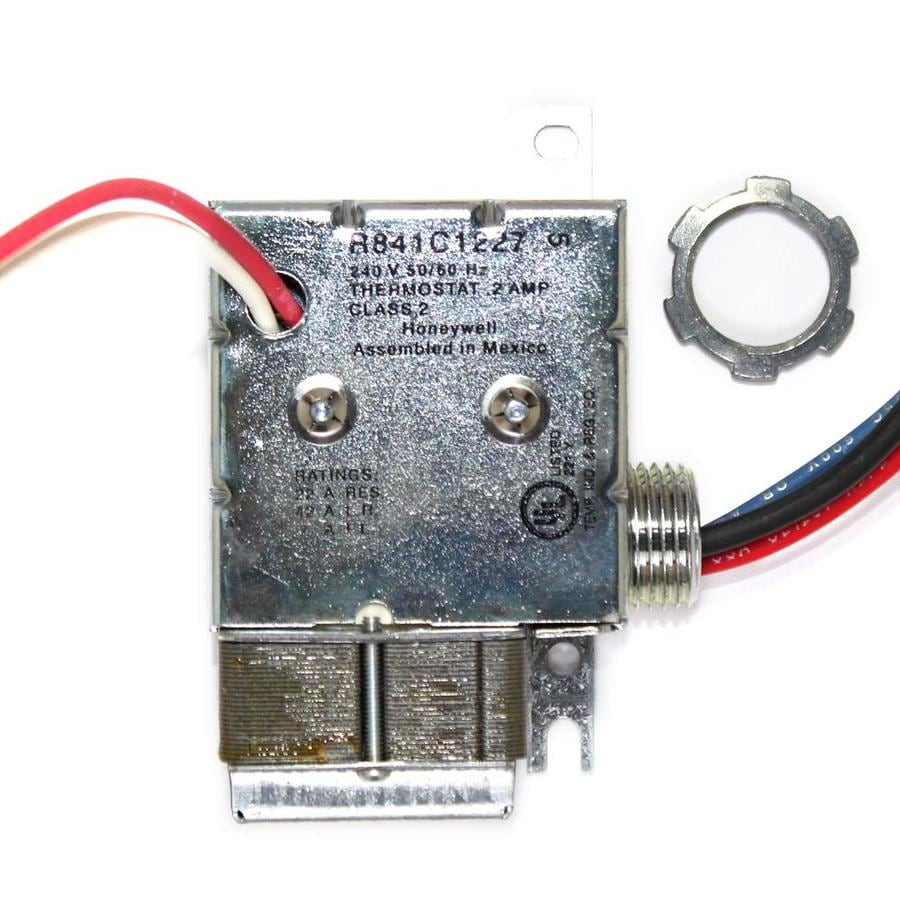 hight resolution of cadet 1 pack com pak electric wall heater thermostat kit at lowes com electric wall heater thermostat wiring