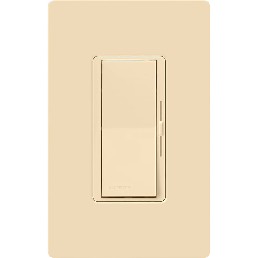 medium resolution of lutron diva 600 watt single pole 3 way ivory dimmer