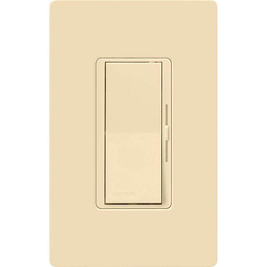 hight resolution of lutron diva 600 watt single pole 3 way ivory dimmer