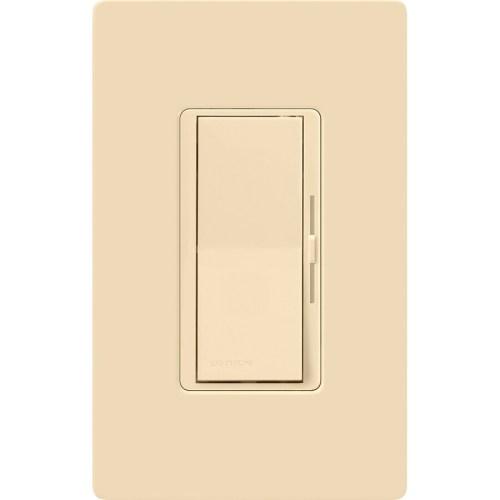small resolution of lutron diva 600 watt single pole 3 way ivory dimmer