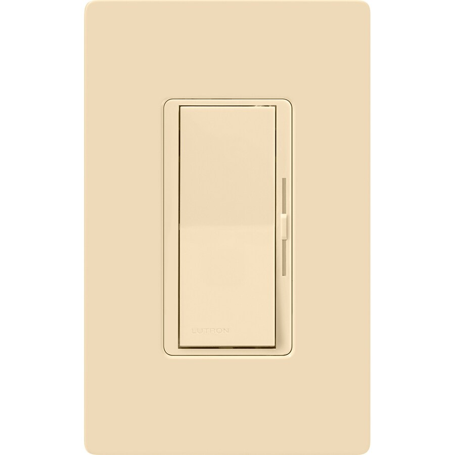 hight resolution of lutron diva 150 watt single pole 3 way ivory compatible with led