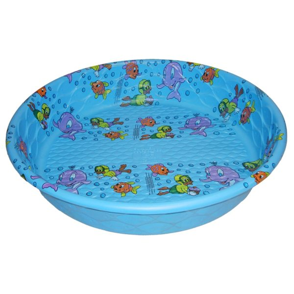 Summer Escapes Poly Pool 59-in L X Laminated Polyethylene Kiddie