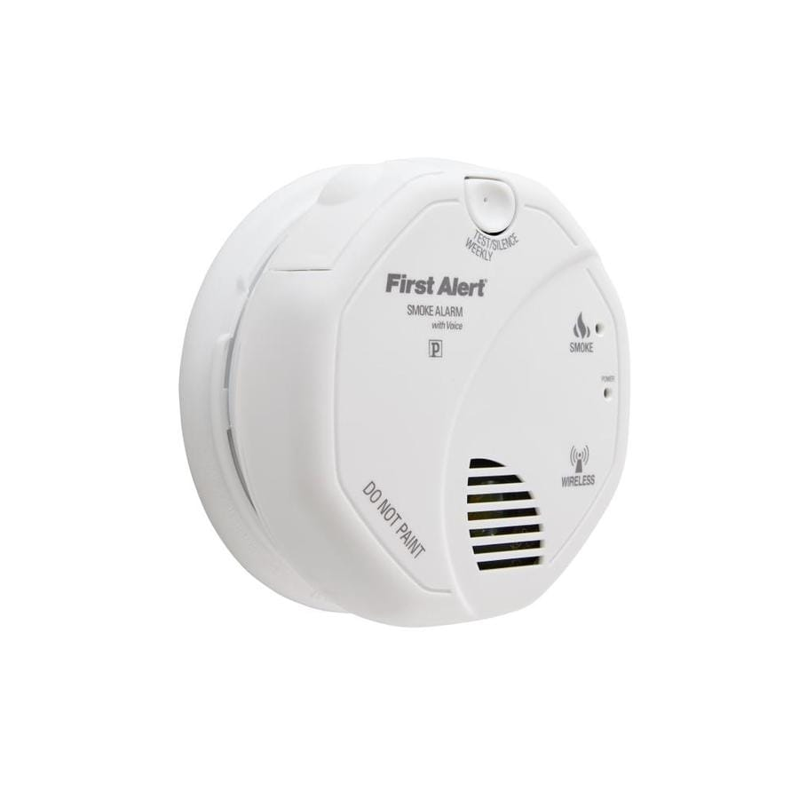 medium resolution of first alert wireless interconnect battery powered 3 volt photoelectric sensor smoke detector