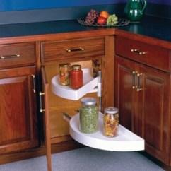 Kitchen Lazy Susan Cabinet Manufacturers List Susans At Lowes Com Knape Vogt 2 Tier Plastic Half Moon