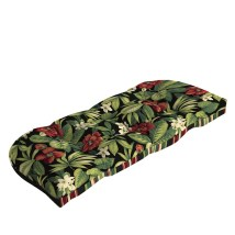 Garden Treasures Sanibel Black Tropical Cushion