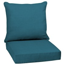 Garden Treasures 2-piece Texture Peacock Deep Seat Patio