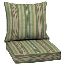 Allen Roth 2-piece Multi Eucalyptus Deep Seat Patio