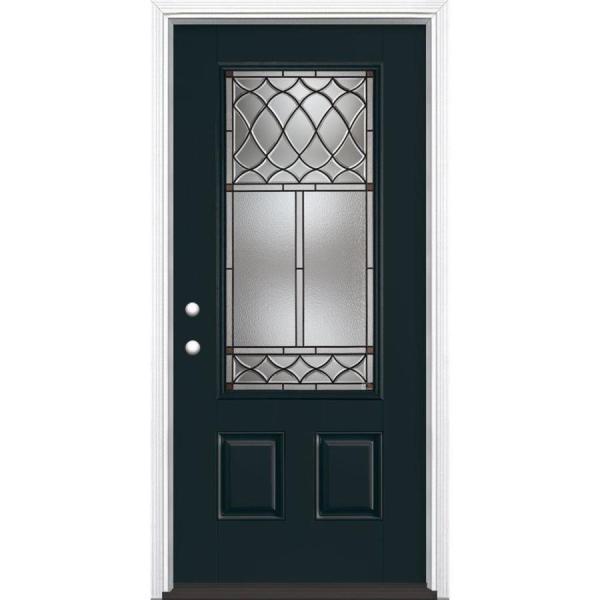 Masonite Fiberglass Entry Doors with Glass