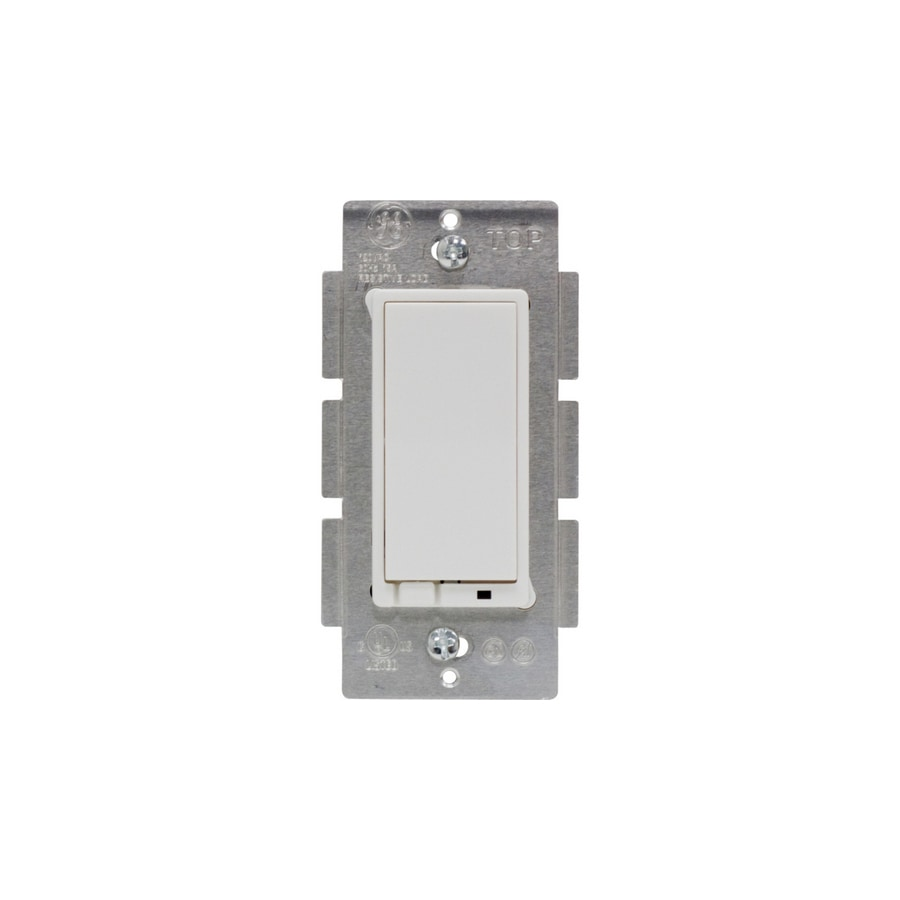 hight resolution of ge z wave 15 amp 3 way white tap residential light switch at lowes com wireless
