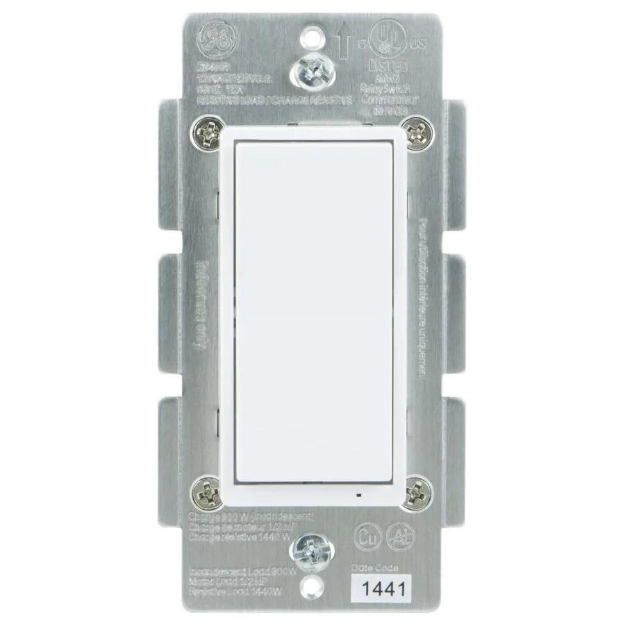 medium resolution of ge zigbee 15 20 amp 3 way 4 way white rocker