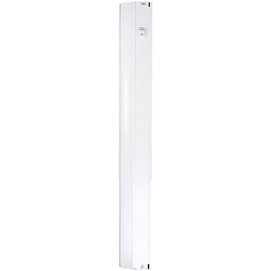 utilitech 24 in hardwired light bar under cabinet lights