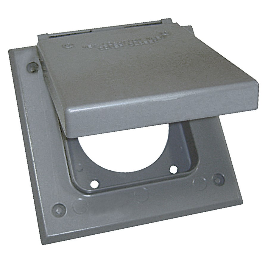 medium resolution of sigma electric 2 gang square metal weatherproof electrical box cover