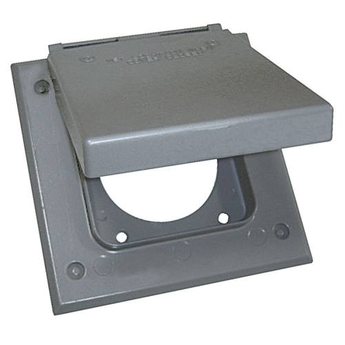 small resolution of sigma electric 2 gang square metal weatherproof electrical box cover