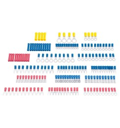 utilitech 175 count butt splice wire connectors [ 900 x 900 Pixel ]