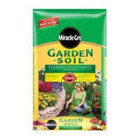 Shop Miracle-Gro 1-cu ft Flower and Vegetable Garden Soil ...