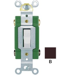 eaton 30 amp double pole brown toggle industrial light switch [ 900 x 900 Pixel ]