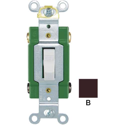 small resolution of eaton 30 amp double pole brown toggle industrial light switch