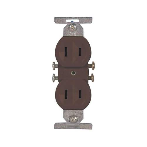 small resolution of eaton brown 15 amp duplex residential outlet