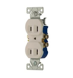 cooper wiring devices 15 amp white duplex receptacle [ 900 x 900 Pixel ]